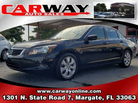 2009 Honda Accord for sale at CARWAY Auto Sales in Margate FL
