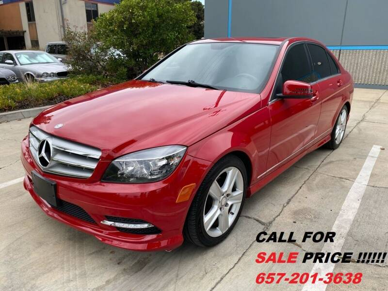2011 Mercedes-Benz C-Class for sale at 7 Auto Group in Anaheim CA