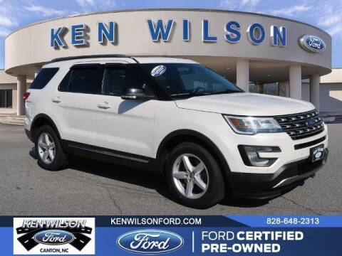 2017 Ford Explorer for sale at Ken Wilson Ford in Canton NC