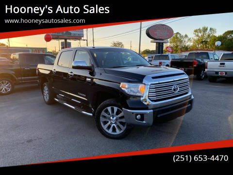 2017 Toyota Tundra for sale at Hooney's Auto Sales in Theodore AL