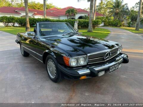 1989 Mercedes-Benz 560-Class for sale at Autohaus of Naples in Naples FL