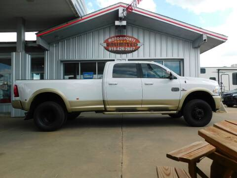 2016 RAM Ram Pickup 3500 for sale at Motorsports Unlimited in McAlester OK