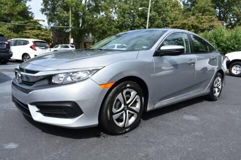 2017 Honda Civic for sale at Apex Car & Truck Sales in Apex NC