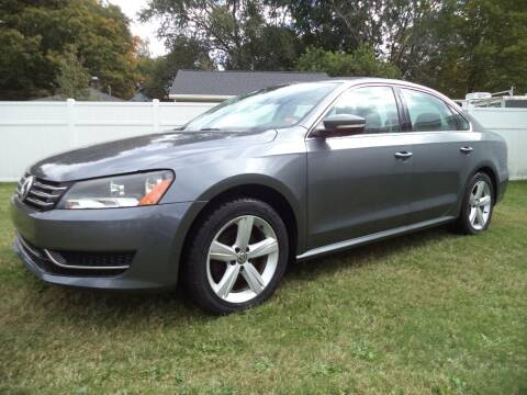 2013 Volkswagen Passat for sale at Niewiek Auto Sales in Grand Rapids MI