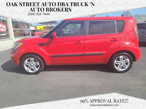 2011 Kia Soul for sale at Oak Street Auto DBA Truck 'N Auto Brokers in Pocatello ID