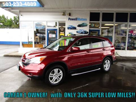 2010 Honda CR-V for sale at Powell Motors Inc in Portland OR