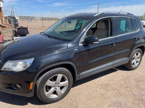 2010 Volkswagen Tiguan for sale at PYRAMID MOTORS - Fountain Lot in Fountain CO