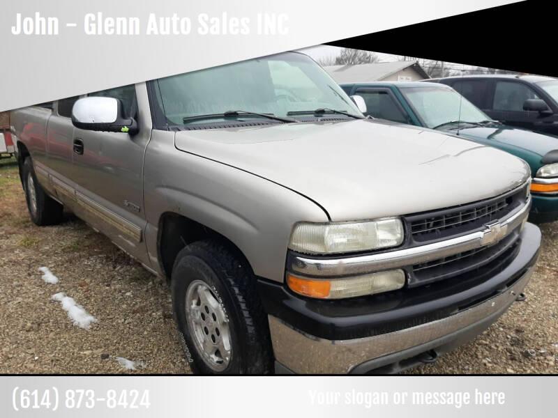 2002 Chevrolet Silverado 1500 for sale at John - Glenn Auto Sales INC in Plain City OH