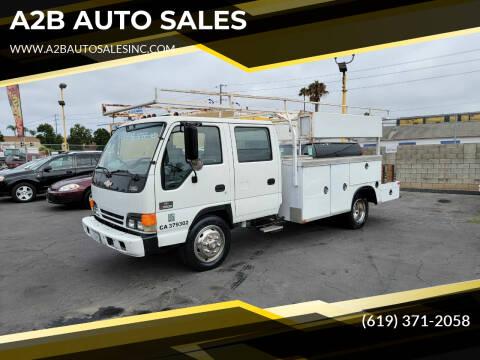 2003 Chevrolet W5500 for sale at A2B AUTO SALES in Chula Vista CA