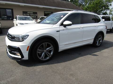 2020 Volkswagen Tiguan for sale at 2010 Auto Sales in Troy NY
