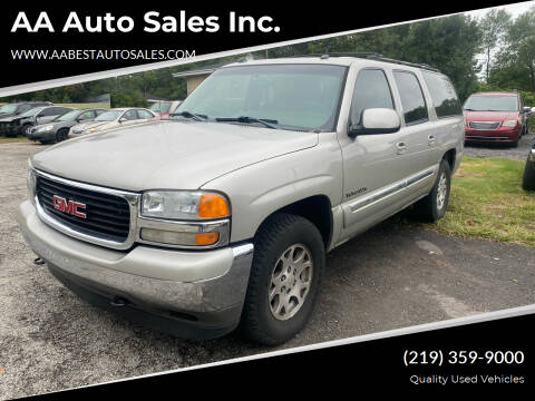 2005 GMC Yukon XL for sale at AA Auto Sales Inc. in Gary IN