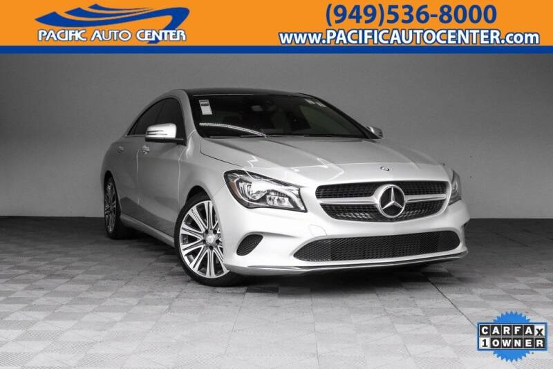 2017 Mercedes-Benz CLA for sale in Costa Mesa, CA