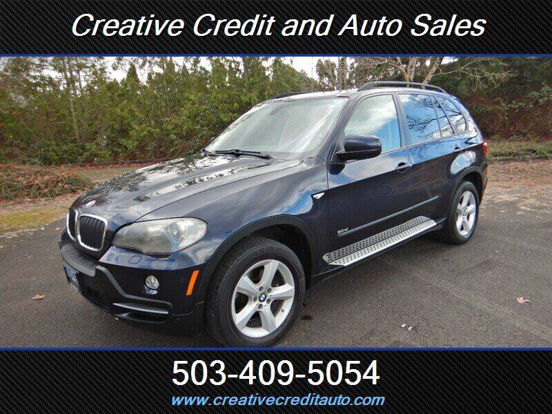 2007 BMW X5 for sale at Creative Credit & Auto Sales in Salem OR