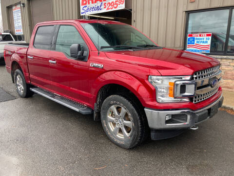 2018 Ford F-150 for sale at 222 Newbury Motors in Peabody MA