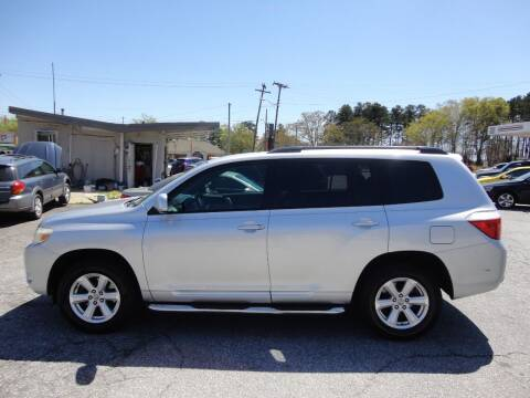 2010 Toyota Highlander for sale at HAPPY TRAILS AUTO SALES LLC in Taylors SC