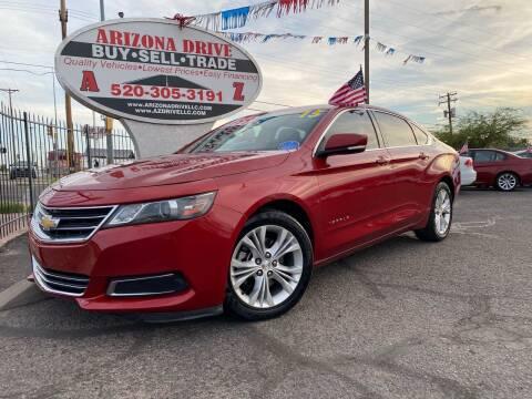 2015 Chevrolet Impala for sale at Arizona Drive LLC in Tucson AZ