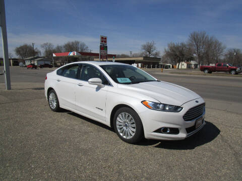 2014 Ford Fusion Hybrid for sale at Padgett Auto Sales in Aberdeen SD