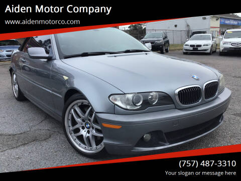 2004 BMW 3 Series for sale at Aiden Motor Company in Portsmouth VA