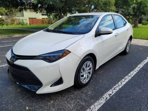 2018 Toyota Corolla for sale at Fort Lauderdale Auto Sales in Fort Lauderdale FL