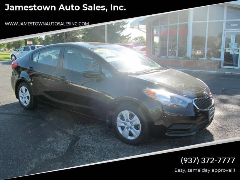 2015 Kia Forte for sale at Jamestown Auto Sales, Inc. in Xenia OH