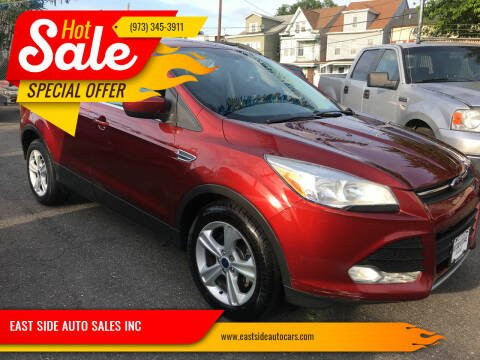 2014 Ford Escape for sale at EAST SIDE AUTO SALES INC in Paterson NJ