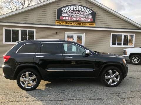 2012 Jeep Grand Cherokee for sale at Home Towne Auto Sales in North Smithfield RI