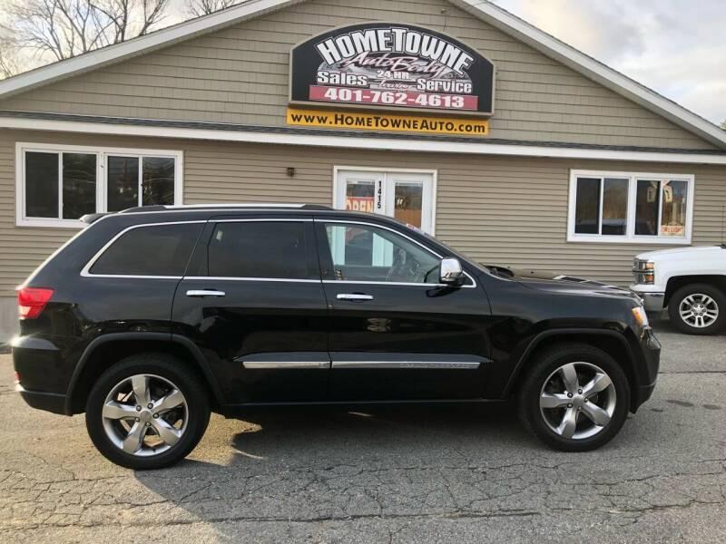 2012 Jeep Grand Cherokee for sale at Home Towne Auto Sales in North Smithfield RI