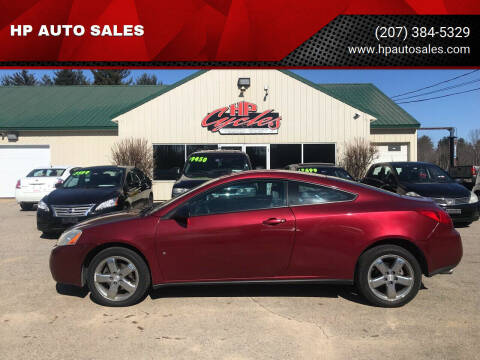 2008 Pontiac G6 for sale at HP AUTO SALES in Berwick ME