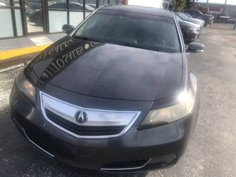 2013 Acura TL for sale at WHEEL UNIK AUTOMOTIVE & ACCESSORIES INC in Orlando FL
