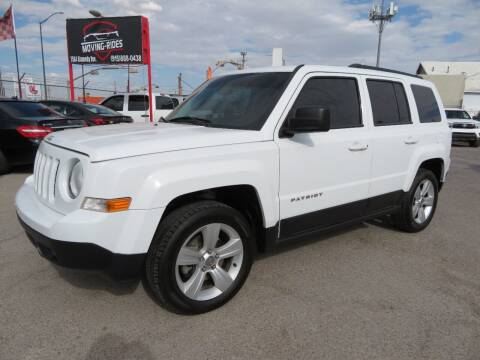 2017 Jeep Patriot for sale at Moving Rides in El Paso TX