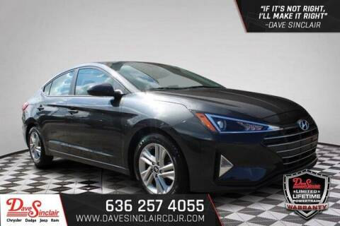 2020 Hyundai Elantra for sale at Dave Sinclair Chrysler Dodge Jeep Ram in Pacific MO