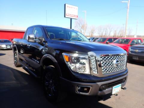 2017 Nissan Titan XD for sale at Marty's Auto Sales in Savage MN
