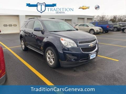 2015 Chevrolet Equinox for sale at Tradition Chevrolet Buick in Geneva NY