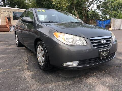2008 Hyundai Elantra for sale at PARK AVENUE AUTOS in Collingswood NJ