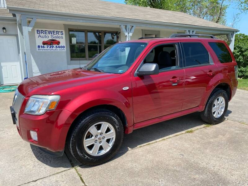 2009 Mercury Mariner for sale at Brewer's Auto Sales in Greenwood MO