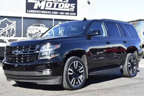 2018 Chevrolet Tahoe for sale at Landers Motors in Gresham OR
