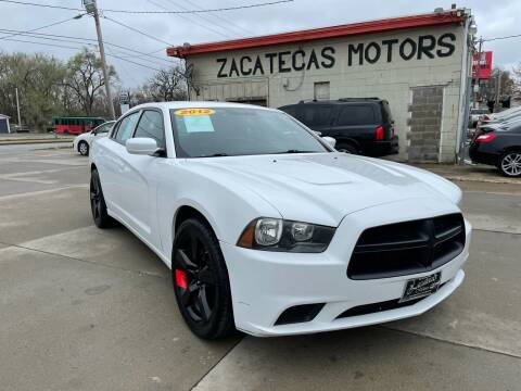 2012 Dodge Charger for sale at Zacatecas Motors Corp in Des Moines IA