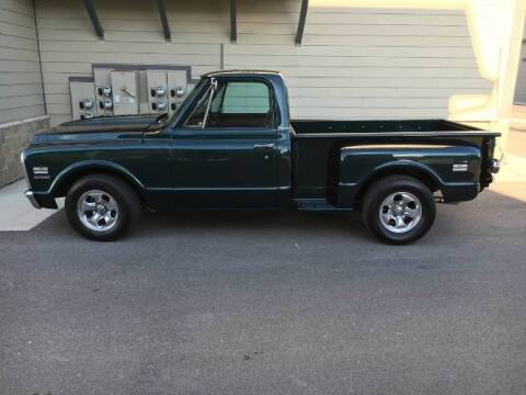 1969 Chevrolet C/K 10 Series for sale at Classic Car Deals in Cadillac MI