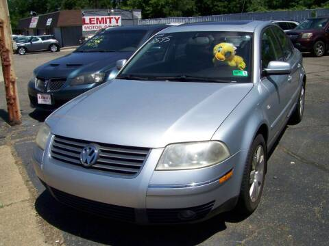 2002 Volkswagen Passat for sale at Collector Car Co in Zanesville OH