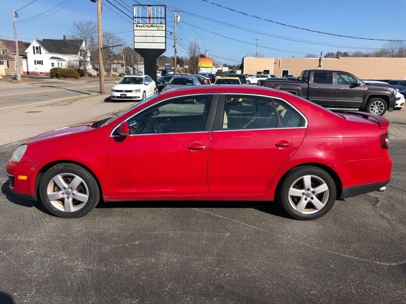 2008 Volkswagen Jetta for sale at BAY CITY MOTORS in Portland ME