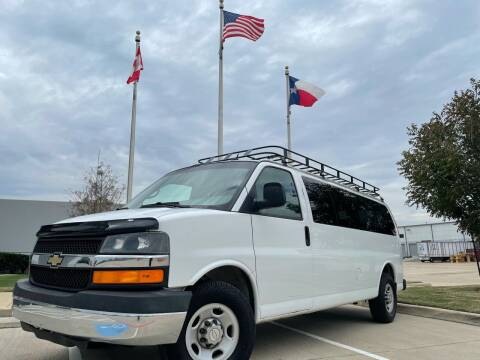 2012 Chevrolet Express Passenger for sale at TWIN CITY MOTORS in Houston TX