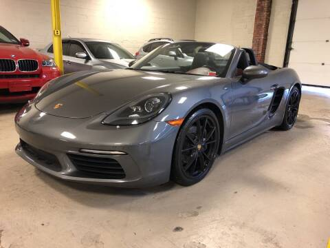 2017 Porsche 718 Boxster for sale at Vantage Auto Wholesale in Moonachie NJ