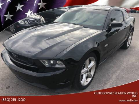 2012 Ford Mustang for sale at Outdoor Recreation World Inc. in Panama City FL