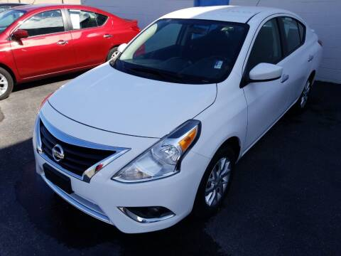2018 Nissan Versa for sale at MARTINDALE CHEVROLET in New Madrid MO