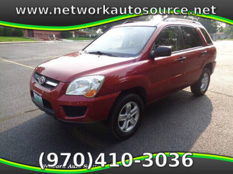 2009 Kia Sportage for sale at Network Auto Source in Loveland CO