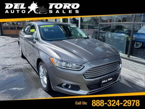 2013 Ford Fusion for sale at DEL TORO AUTO SALES in Auburn WA