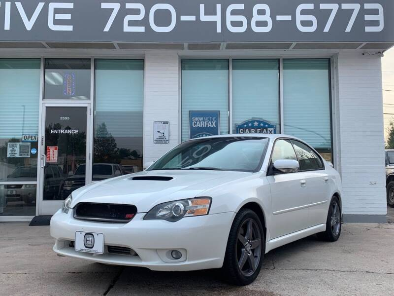 2005 Subaru Legacy for sale at Shift Automotive in Denver CO