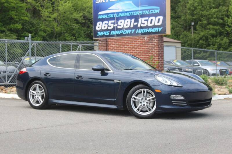2010 Porsche Panamera for sale at Skyline Motors in Louisville TN