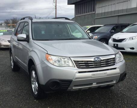 2010 Subaru Forester for sale at A & V AUTO SALES LLC in Marysville WA