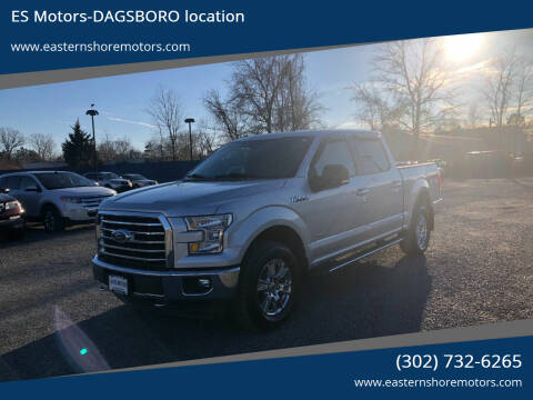 2017 Ford F-150 for sale at ES Motors-DAGSBORO location in Dagsboro DE